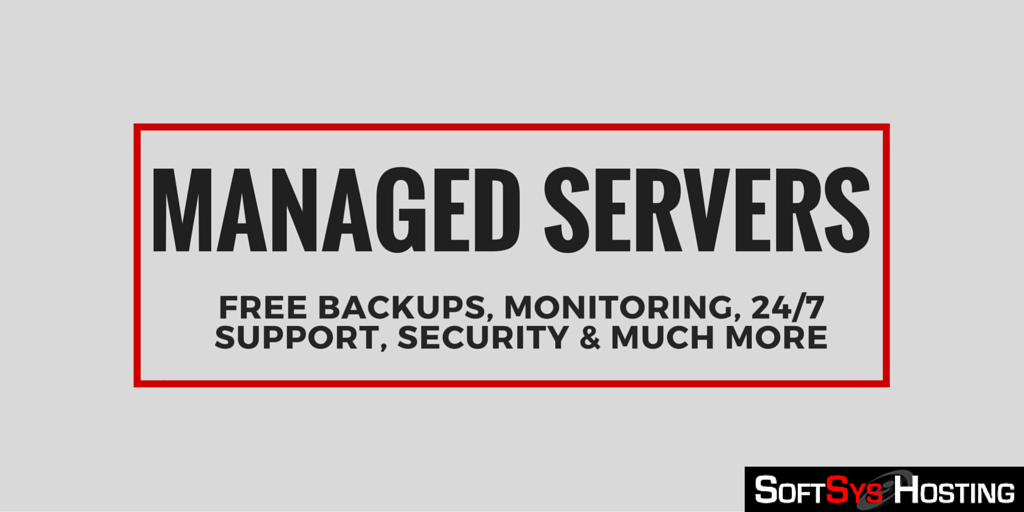 Managed Servers By Softsys Hosting